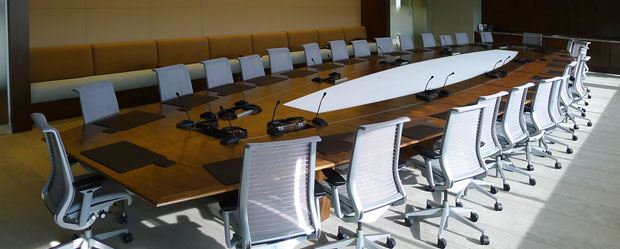 Large Conference Table Conference Table Size And Seating
