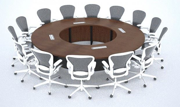 ... Nationwide Reconfigurable Boardroom Conference Table
