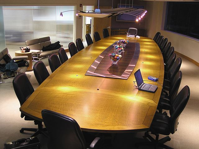 Afrt Boat Shape Conference Table Paul Downs