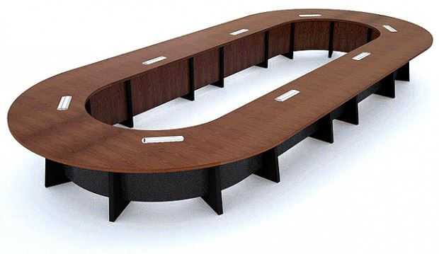 Nationwide Reconfigurable Boardroom Conference Table