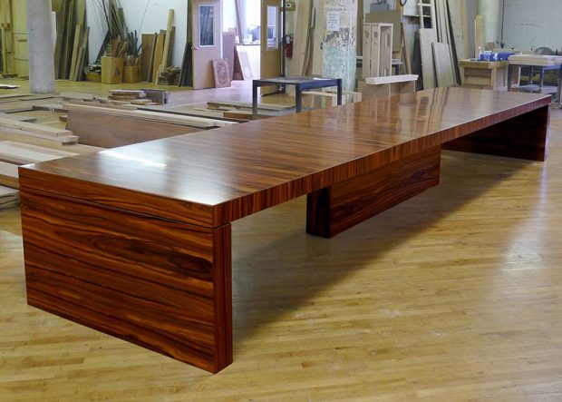 Atrion Rosewood Contemporary Conference Table
