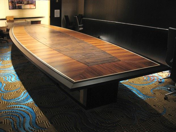 Foxwoods Boardroom Table Paul Downs Cabinetmakers
