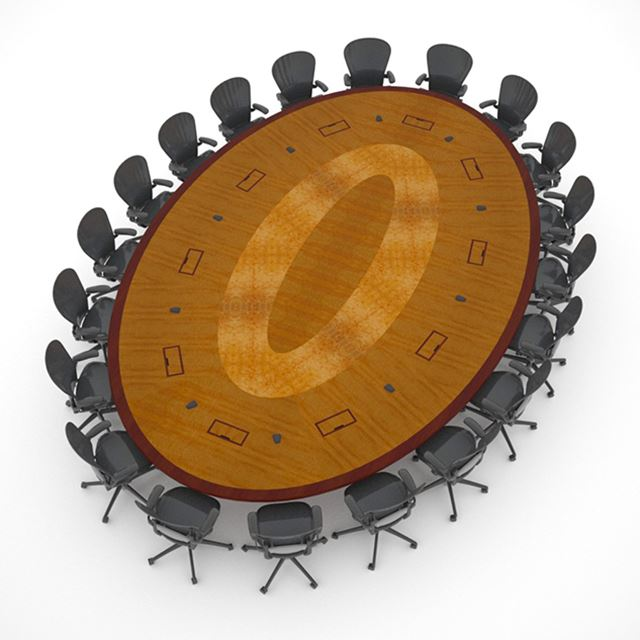 Round Oval Conference Tables Paul Downs Cabinetmakers - Oblong conference table