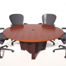 Fort Sumter Six Foot Round Conference Table