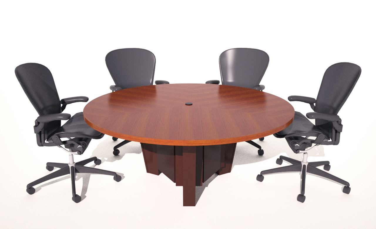 Fort Sumter Six Foot Round Table Paul Downs Cabinetmakers - 6 foot conference table