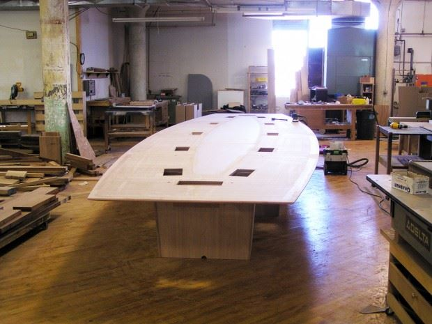 Erie Insurance Conference Table