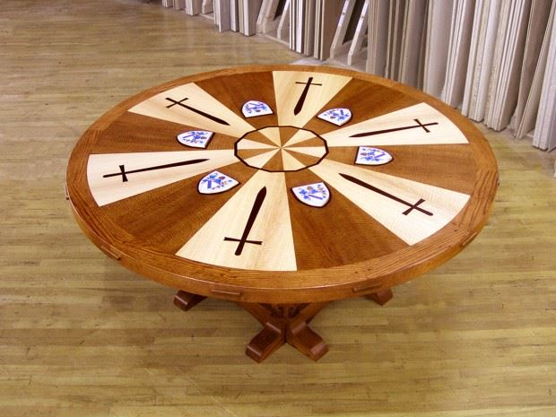 King Arthur's Round Conference Table