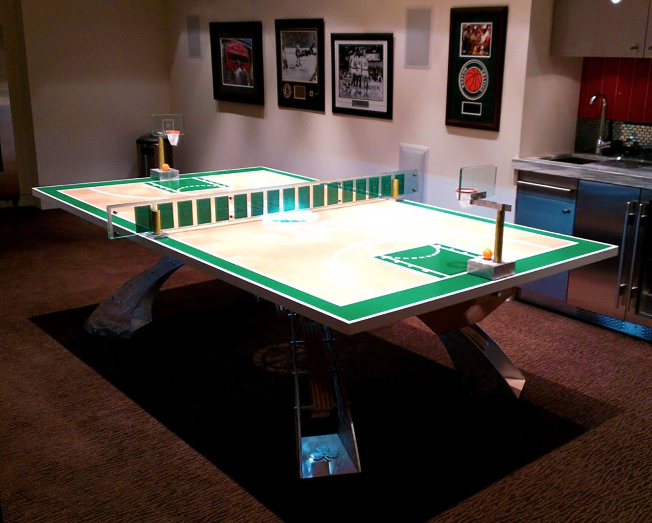 Hurricane Billiards Table Paul Downs Cabinetmakers - Table tennis conference table