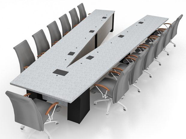 General Atomics Conference Table