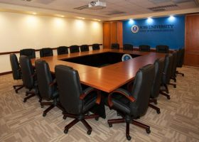 Ross University Custom Modular Conference Table