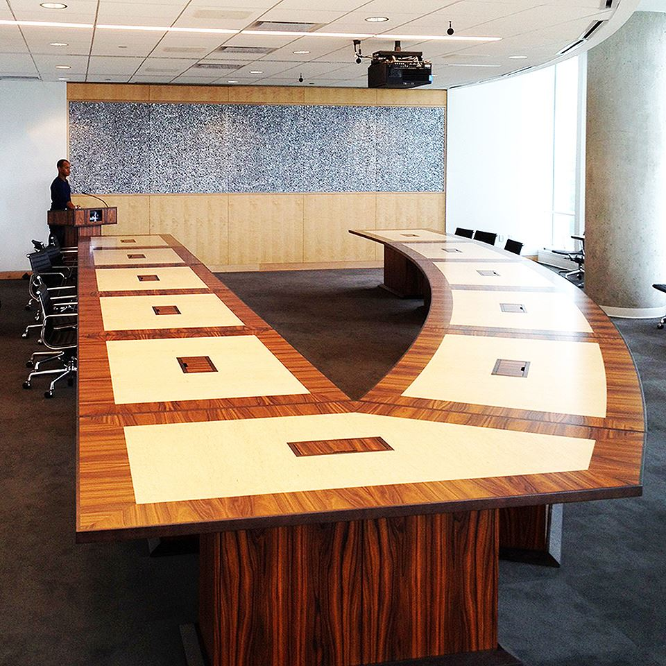 nasa crf modular conference tables paul downs cabinetmakers. Black Bedroom Furniture Sets. Home Design Ideas