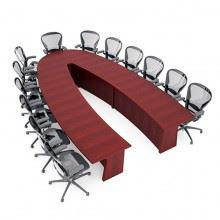 Lackland AFB U-Shaped Conference Table