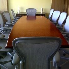 Vermont Technology Park Conference Table