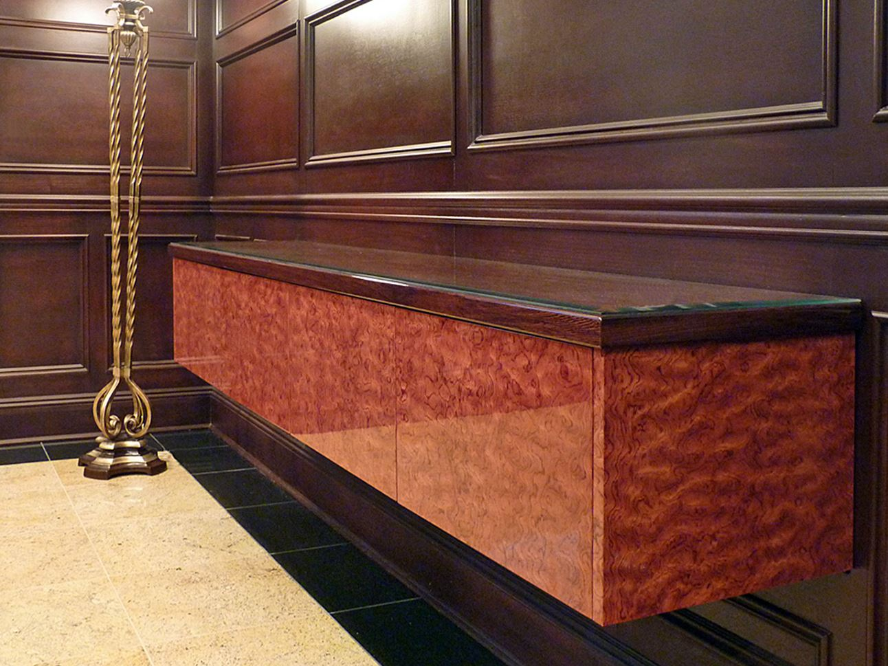 8 Wall Mounted Credenza Ace Paul Downs Cabinetmakers