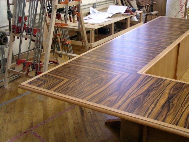 Puget Sound Naval Shipyard U-Shaped Conference Table