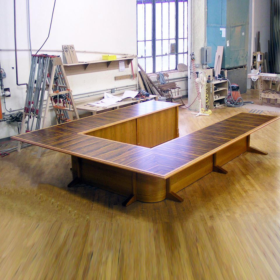 UShaped Conference Tables Paul Downs Cabinetmakers - U shaped conference table