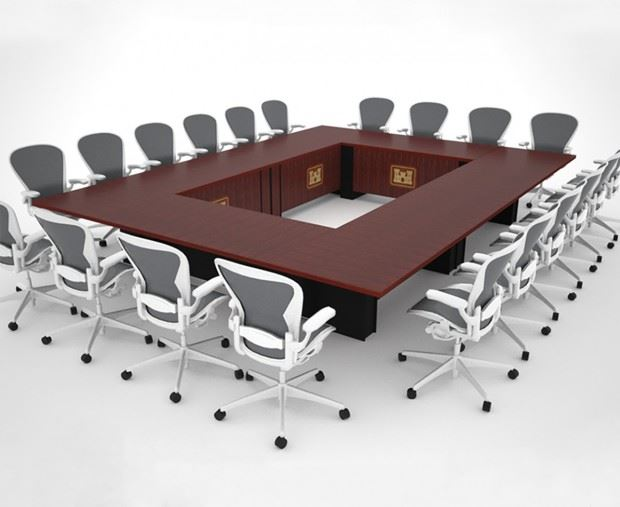 Corps of Engineers Modular Conference Tables