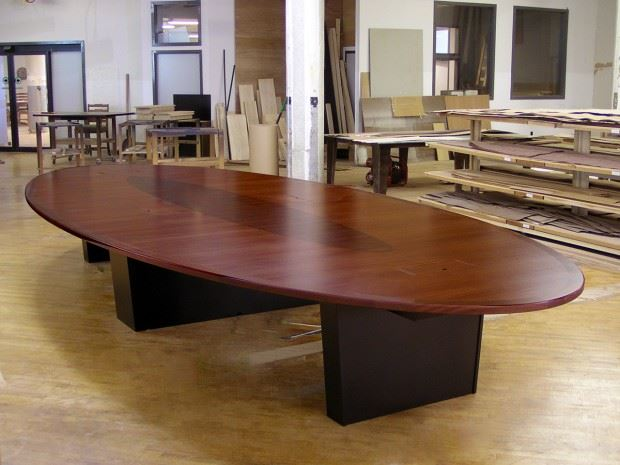 Healthquest Oval Table Paul Downs Cabinetmakers - Large oval conference table