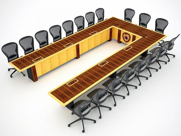 EPG Ushaped Table Paul Downs Cabinetmakers - U shaped conference table designs