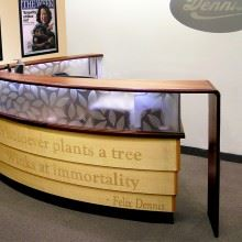 Dennis Publishing Reception Desk
