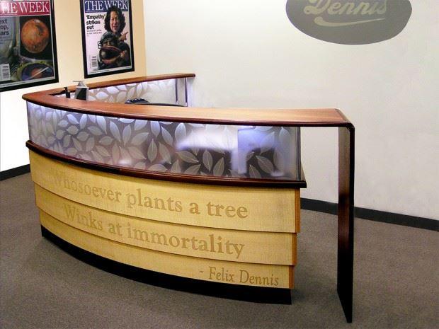 Dennis Publishing Reception Desk