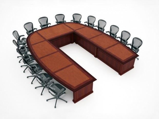 Sargento U Shaped Large Conference Table Paul Downs