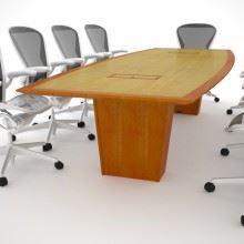 Belmont Light Conference Table