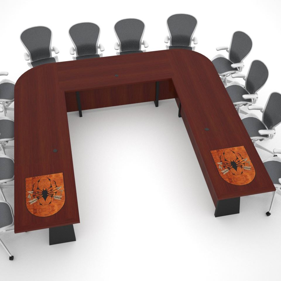 Th Special Forces Group Table Paul Downs Cabinetmakers - U shaped conference table