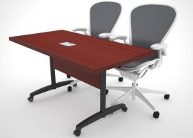 WACIF Folding Modular Conference Table