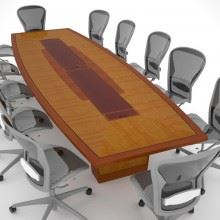Telemus – Unbuilt Conference Table