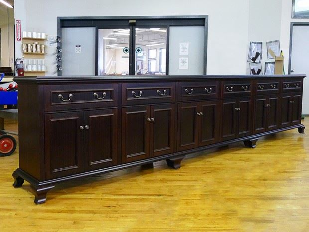 14′ Traditional Credenza – Richards&Assoc.