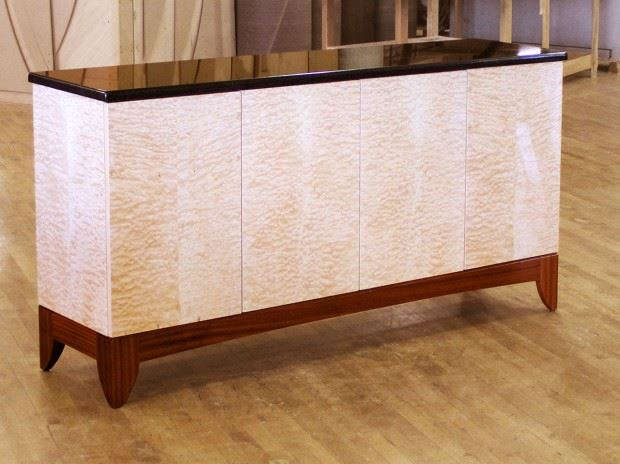 6′ Credenza w/ Granite Top – Pinnacle Group