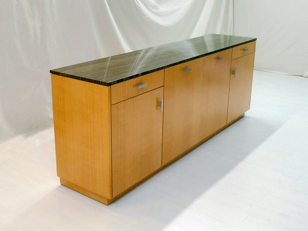 8′ Credenza w/ Marble Top – H2L2