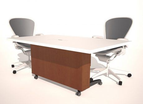 Full Case Folding Conference Table Base