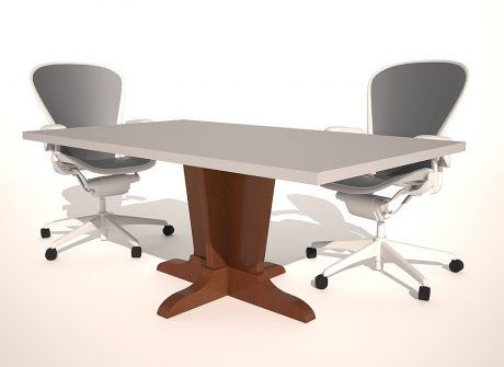 InfoTech Conference Table Base
