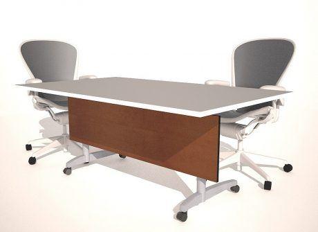 Large Panel Folding Conference Table Base