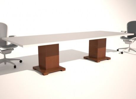Slim Cube (ARDMS) Conference Table Base