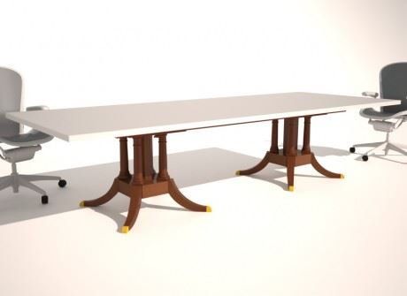 Audrain Conference Table Base
