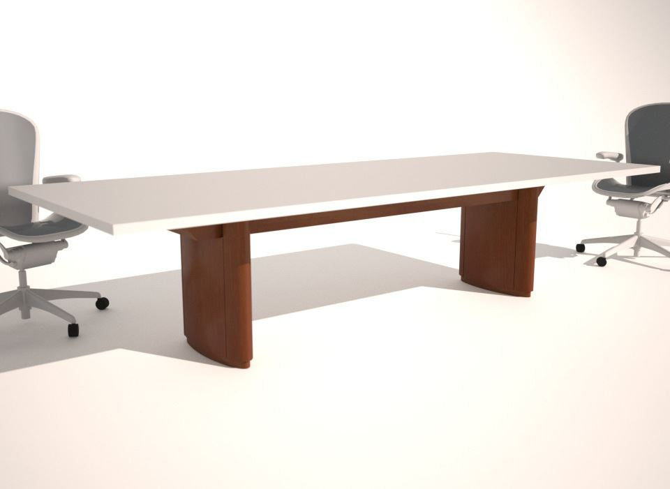 Conference Table Design Base Options Paul Downs - Conference table bases wood