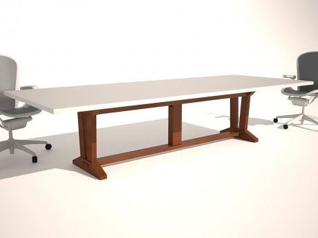 Trestle - V Type Conference Table Base
