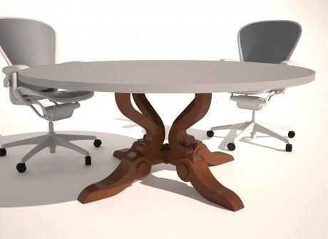 Fairmount Conference Table Base