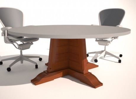 Lindsy Farms Conference Table Base