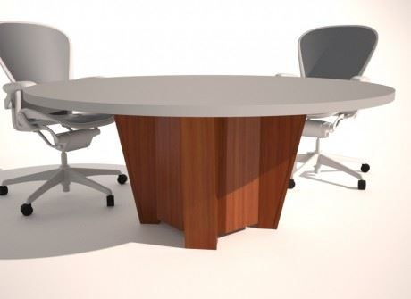 Quadruple Arm Conference Table Base
