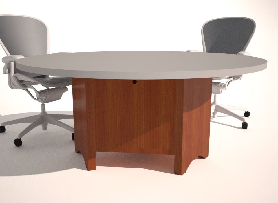 Conference Table Design Base Options Paul Downs - 72 round conference table