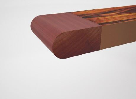 Bullnose Conference Table Edge