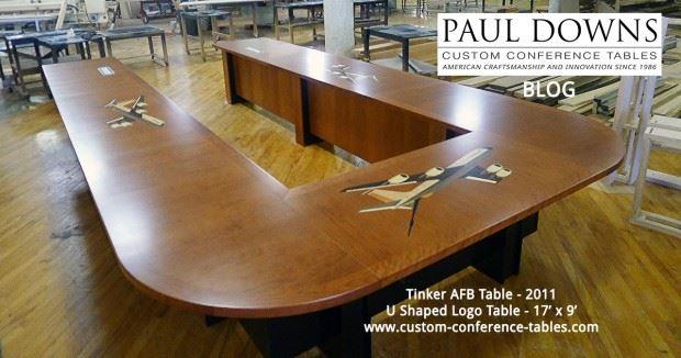 Src Https Www Custom Conference Tables Wp Content Uploads 2016 04 Tinker Afb U Shaped Fb Blog 620x326 Jpg Alt Paul Downs Vintage