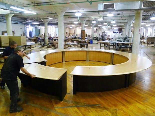 WECU Round Conference Table
