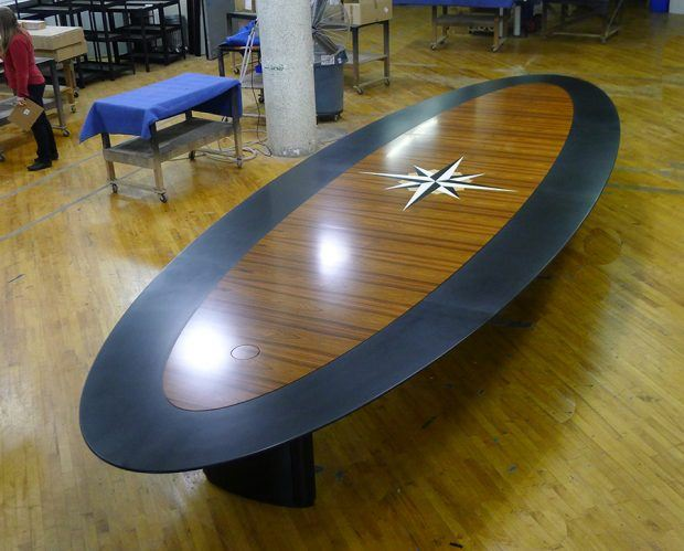 CB Large Boardroom Conference Table