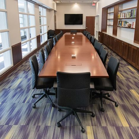 James Madison University Conference Table Paul Downs