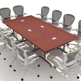 WACIF Folding Modular Conference Tables